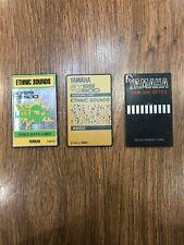 "Yamaha sy85 tg500 ""Ethic Sounds"" Double Set Card+Memory card free shipping"