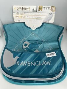 Harry Potter Official Licence Super Bib Bum Kins Baby Bib 3 Pack Ravenclaw