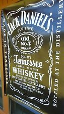Jack Daniels 6 foot Old No 7 Vinyl Banner 6' x 4' Liquor Whiskey Advertising