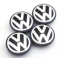4 centres de roue VW 70mm emblème cache moyeu VW TOUAREG TIGUAN SHARAN