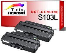 2x Toner para Samsung ml2950 ndr ml2951 ml2955 DW scx4728 FD scx4729 mlt d103l