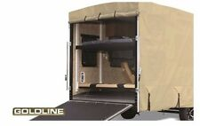 Goldline RV Trailer 5th Wheel Cover Fits 26 to 28 Foot Tan