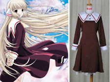 Red and White Cosplay  Chii Dress Costume from Chobits Custom