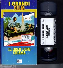Il gran Lupo chiama (1964) VHS Hobby & Works Video  Cary Grant Leslie Caron CULT