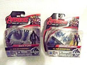 Marvel Avengers Age of Ultron-Marvel's Vision vs Sub Ultron 011,Nick Fury vs. Su