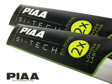 PIAA Si-Tech Front Wiper Blades Set - Silicone, Longer Lasting / 650mm; 650mm