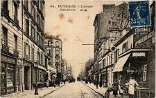 CPA PUTEAUX L'Avenue Jean Jaurés (413241)