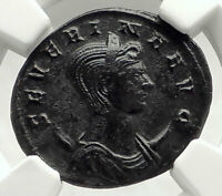 SEVERINA wifeof AURELIAN 275AD Authentic Ancient Roman Coin CONCORDIA NGC i76314