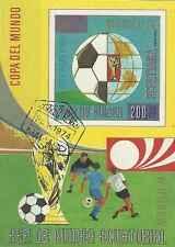 Timbre Sports Football Guinée équatoriale o lot 12524