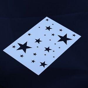 Stars Stencil Star Sky Mylar Sheet Painting Wall Art Craft Airbrush 190 Micron