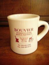 Bouvier Pharmacy & Home Medical  Equipment Advertising Mug Diner Style