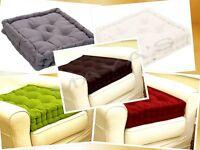 "4"" High Armchair Bolster Booster Cushion Best for Pregnancy & Elderly Easy Rise"