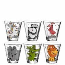Leonardo Becher sortiert Bambini 6 Stück Kinderglas Kindertrinkglas Kinderbecher
