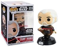 RARE Count Dooku Smugglers Bounty STAR WARS FUNKO Pop Vinyl NEW in Mint Box +P/P