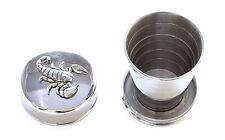Scorpio The Scorpion Collapsible Cup Folding Shot Cup Star Gift