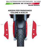 Adesivi per parafango - Ducati Multistrada 950 / 1200 Enduro