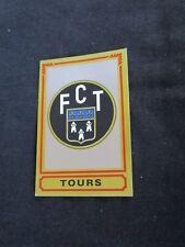 FC TOURS   ECUSSON Image sticker N° 328  FOOTBALL 85 PANINI 1985 BRILLANT