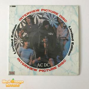 AC/DC, Interview picture disc vinyl LP, BAK 2030  NM/NM