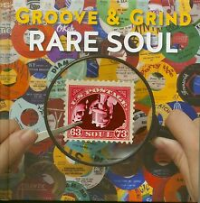 Various-rare soul Groove & Grind 1963 - 1973 (4-cd hardcoverbook) - soul