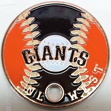 San Francisco Giants Pathtag Coin MLB Series Only 100 Complete Sets Made!
