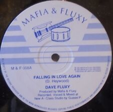 "DAVE FLUXY - Falling In Love Again ~ 12"" Single"