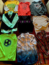 HUGE BOYS SIZE 7-8 CLOTHES LOT, 60+ Pieces, Nike, Fort nite, Minecraft & More!