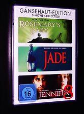 gänsehaut Edición ROSEMARY´S Bebé / Jade / JENNIFER 8 DVD 3 Disco Juego