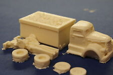 HO SCALE TRUCK- 1940'S DIAMOND T REO COAL TRUCK