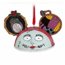 Disney Nightmare Before Christmas Jack Skellington SALLY EAR HAT TREE ORNAMENT