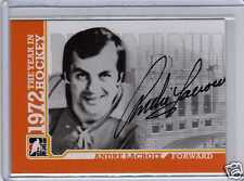 ANDRE LACROIX 09/10 ITG 1972 YEAR IN HOCKEY Auto A-AL Autograph Hard-Signed