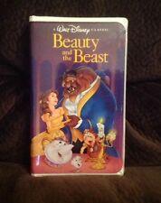 RARE Walt Disney Classic Beauty and the Beast (VHS, 1992) BLACK DIAMOND Tape EUC