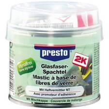 Mastic polyester avec fibre de verre 250g + durcisseur Presto 443619