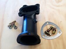 """Nissan Navara D22 2.5L 3"""" Dump Pipe Stainless Steel With Pyro"""