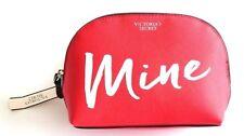 VICTORIAS SECRET RED MINE BAG MAKEUP COSMETIC CASE NWT