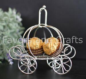 Cinderella Carriage Quinceanera Recuerdos Favors Centerpiece Wedding Coach 12pk
