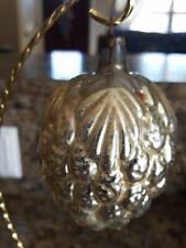 Antique christmas ornament grape cluster.