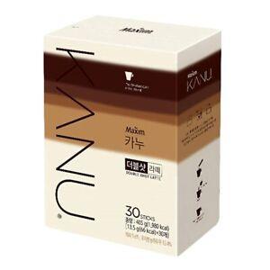 Dong Suh Maxim Kanu Latte coffee Double Shot Latte (30 Sticks)