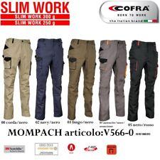 Pantaloni da lavoro COFRA modello MOMPACH multitasche slim strech D-Ring