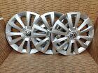 2012-18 Volkswagen Beetle Hubcap - Genuine Factory Wheel Cover lot of 3