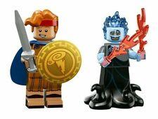 "LEGO DISNEY SERIES 2 MINI FIGURES ""HERCULES AND HADES"" NEW NOW RETIRED!"