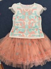 Billieblush Outfit Skirt Top Size 6 Years