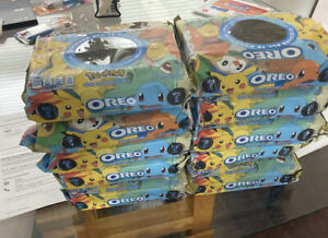 Limited Edition Pokemon Oreo Cookies 15.25oz. Fast Ship. In Hand