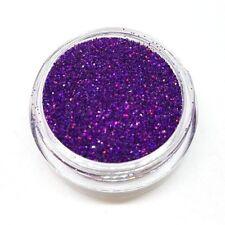 CA Glitter LASER Lila Purple Violet Multi Regenbogen Shine Effekt hologramm #406