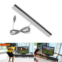 Replacement Wired Infrared TV Ray Sensor Bar For Nintendo Wii & Wii U Console