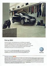 Publicité Advertising 107   2011  Volkswagen la Polo by ikks VW