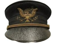 US ARMY 1902 ALL BRANCH OFFICER DRESS HAT HEAVY BULLION EARLY EAGLE (replica)