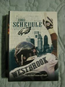 PHILADELPHIA EAGLES 2009 POCKET FOOTBALL NFL SCHEDULE  Brian Westbrook