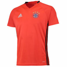 Maillot de football de clubs allemands rouge manches courtes