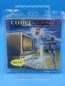 "1989-90 Compu-Comic Book Inventory Program IBM 5.25"" Disk Brand New"