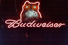 New Budweiser Hooters Bar Beer Pub Neon Light Sign 19''X15""